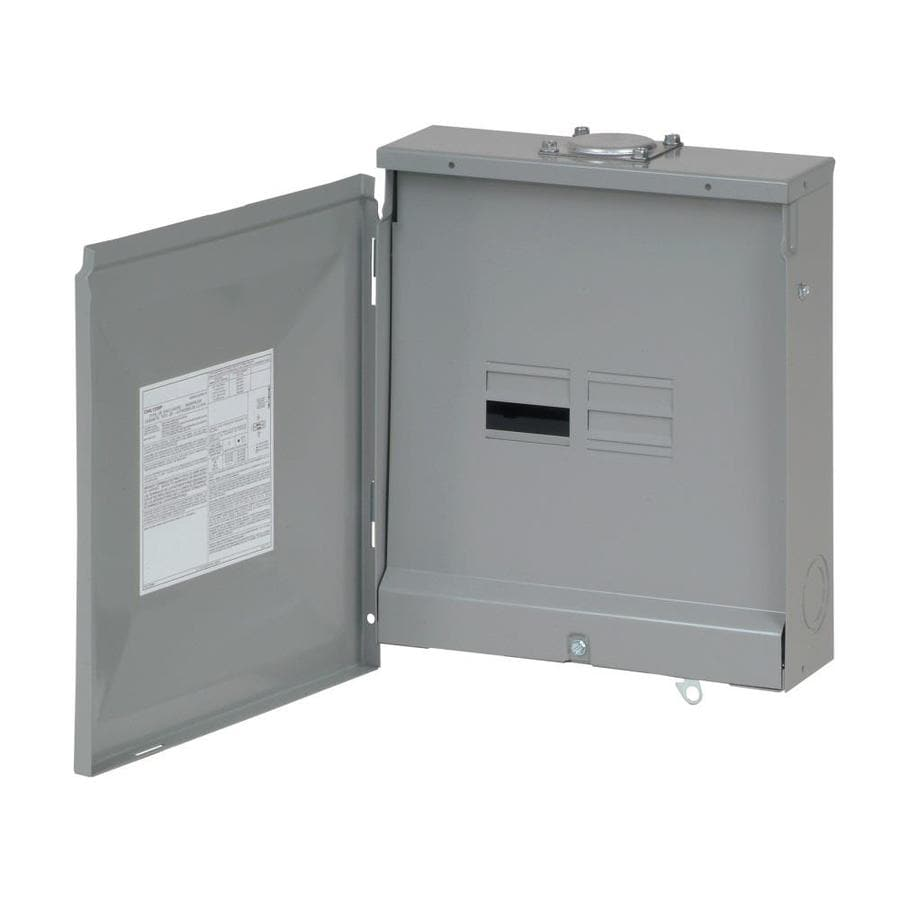 Eaton 8-Circuit 4-Space 125-Amp Main Lug Load Center