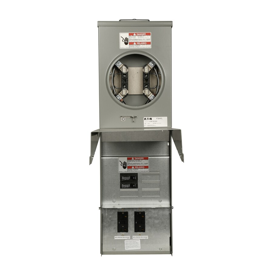 Eaton 20-Amp 4-Circuit Overhead Temporary Power Panel
