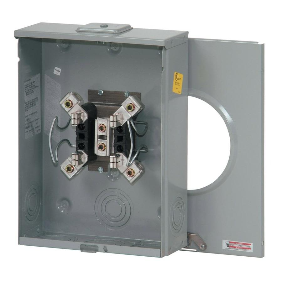Eaton 200-Amp Ringless Single Phase (120/240) Meter Socket