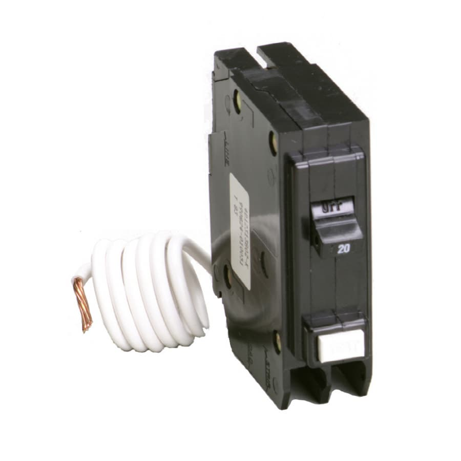 Eaton Type BR 20-Amp 1-Pole Ground Fault Circuit Breaker