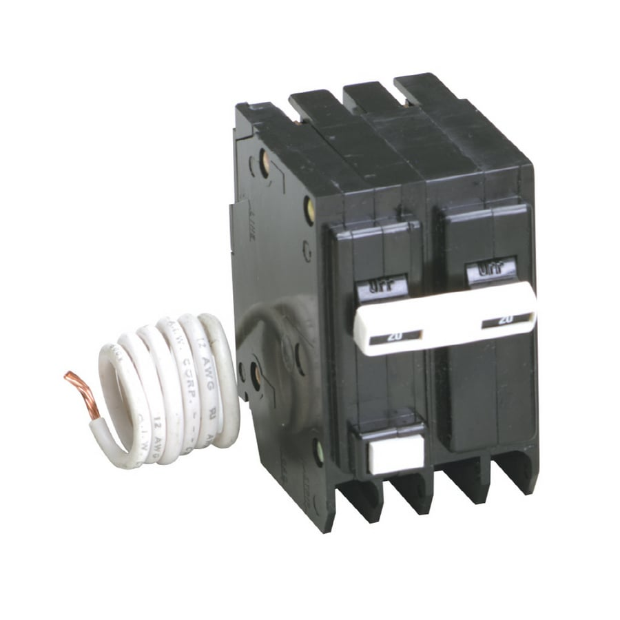 Eaton Type BR 20-Amp 2-Pole Ground Fault Circuit Breaker