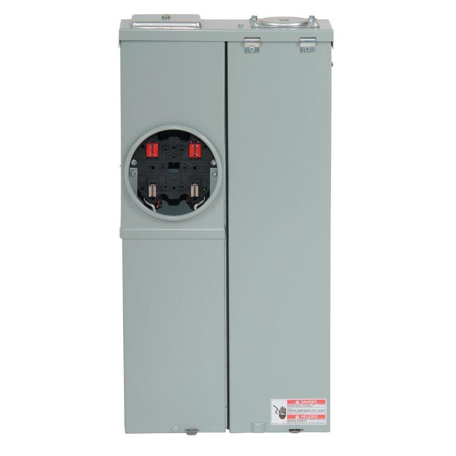 Eaton Type CH 4-Circuit 2-Space 125-Amp Main Lug Load Center