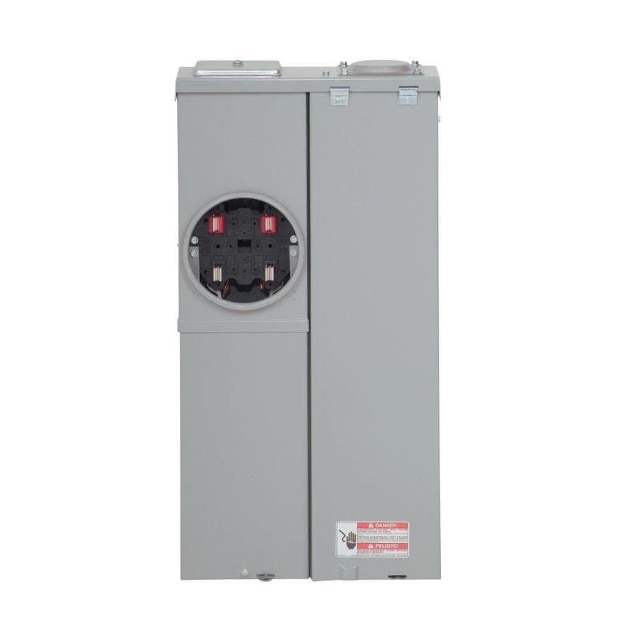 Eaton 8-Circuit 4-Space 200-Amp Main Breaker Load Center