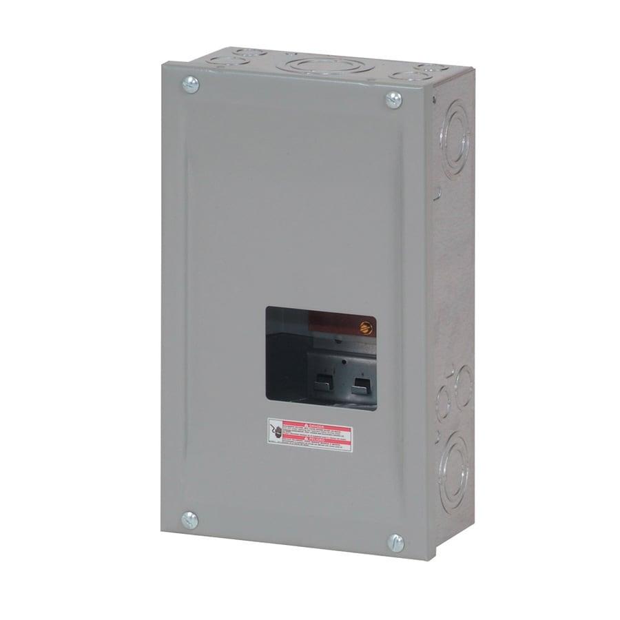 Eaton 3-Circuit 3-Space 100-Amp Main Lug Load Center