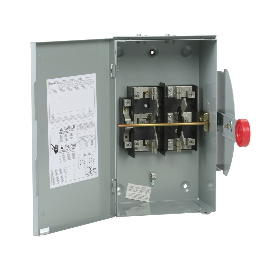 Eaton 100-Amp Non-Fusible Metallic Safety Switch