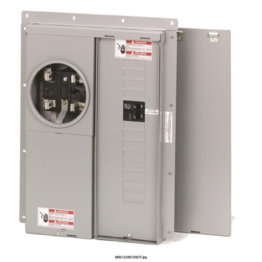 Eaton 24-Circuit 12-Space 125-Amp Main Breaker Load Center