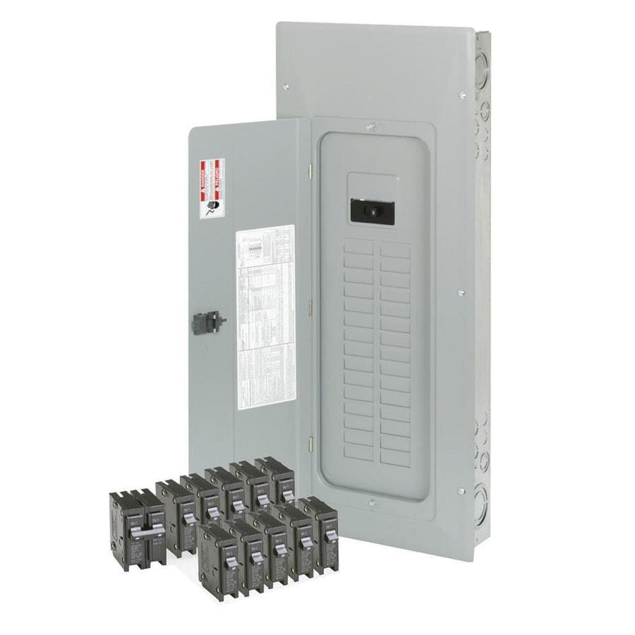 Eaton 30-Circuit 30-Space 150.0-Amp Main Breaker Load Center (Value Pack)