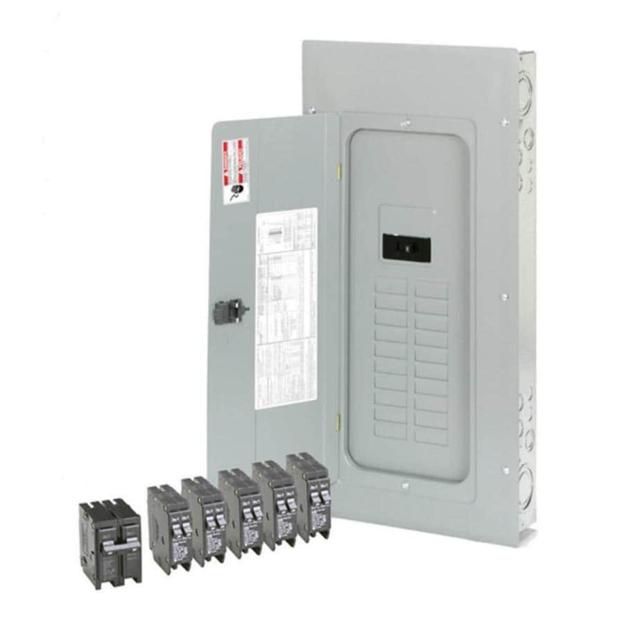Eaton 40-Circuit 20-Space 200-Amp Main Breaker Load Center (Value Pack)