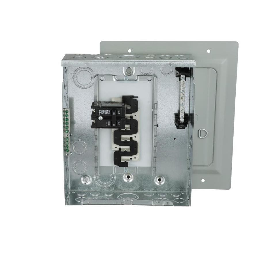 Eaton Type BR 20-Circuit 10-Space 100-Amp Main Breaker Load Center