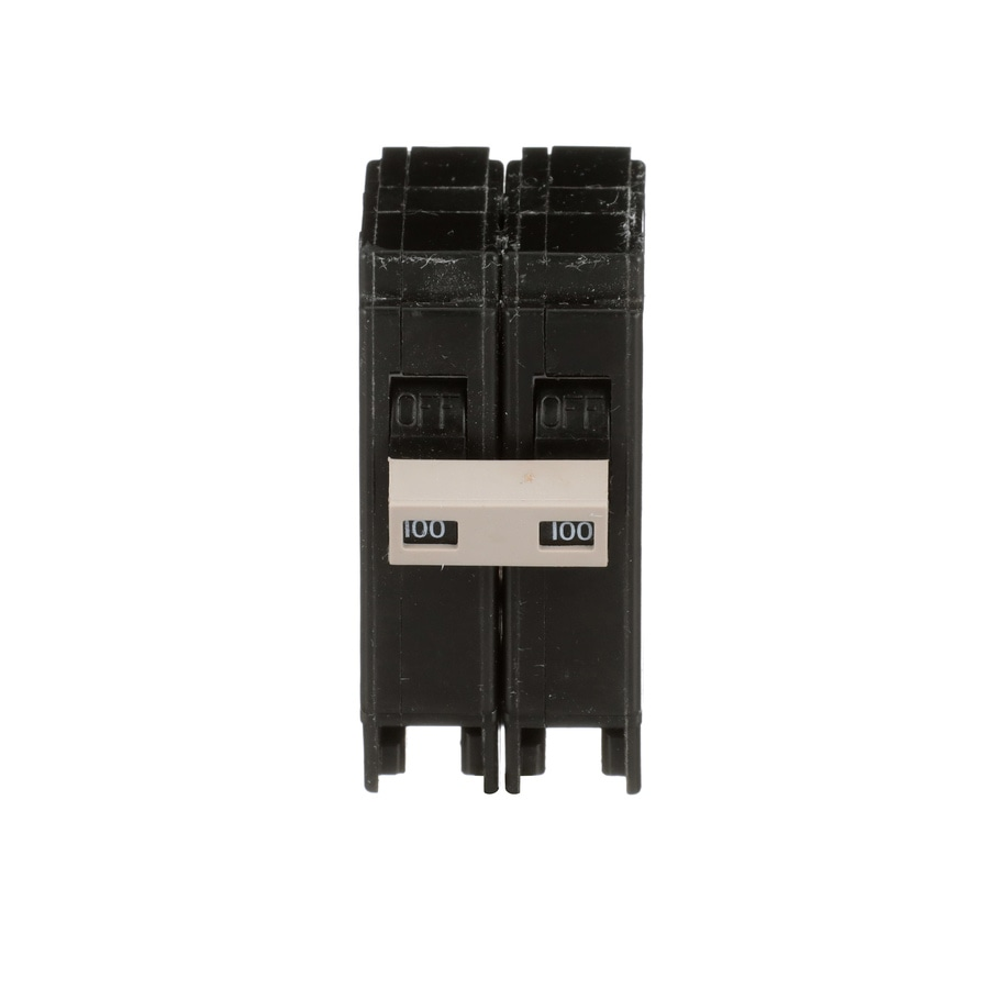 shop eaton type ch 100 amp 2 pole standard trip circuit breaker at lowes