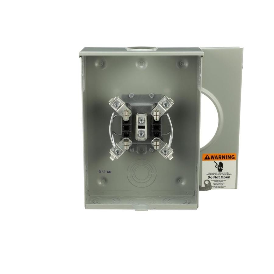 Eaton 200-Amp Ringless Single Phase (120/240) Meter Socket