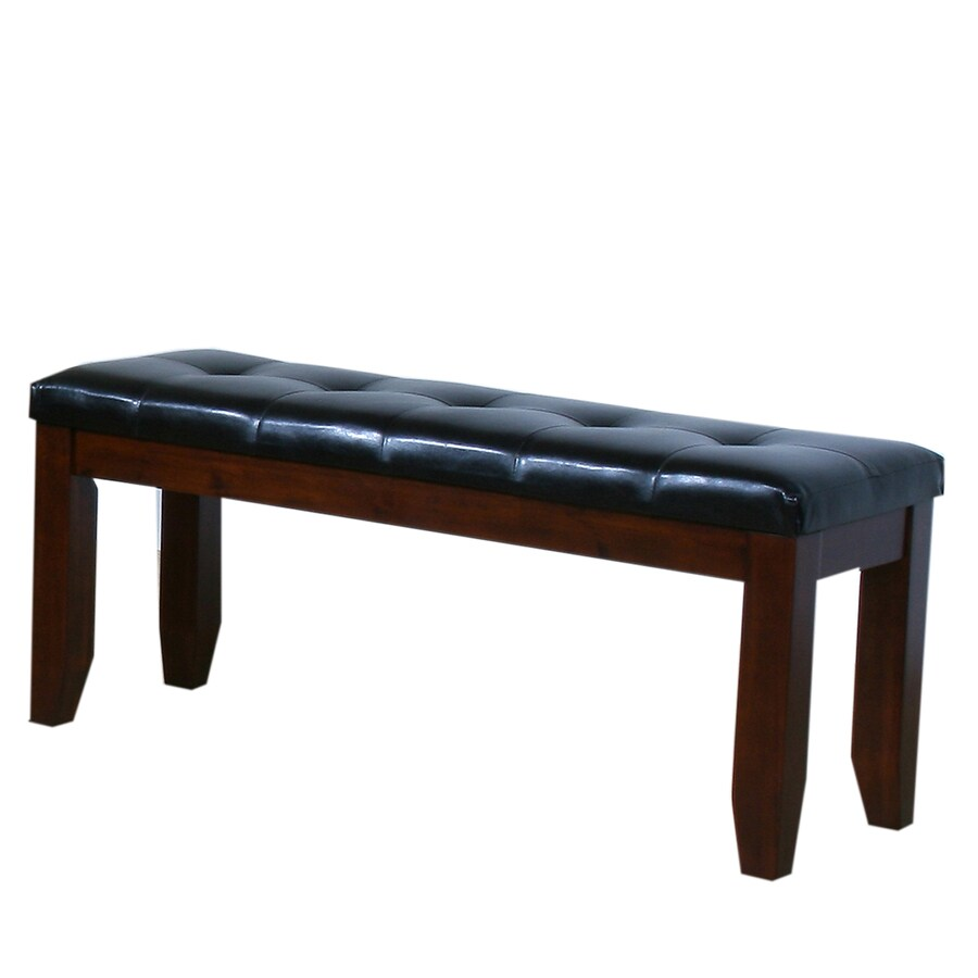 Home Sonata Traditional Dark Oak Accent Bench
