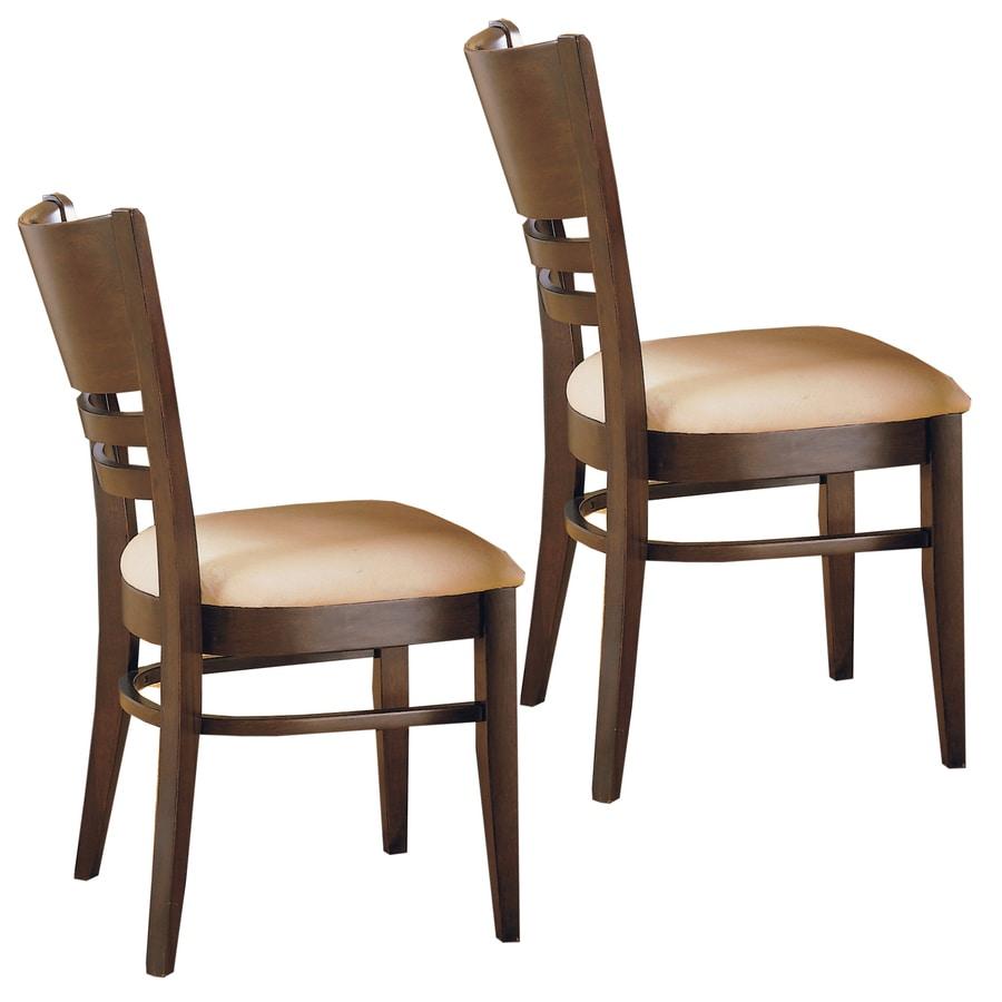 Home Sonata Espresso Side Chair