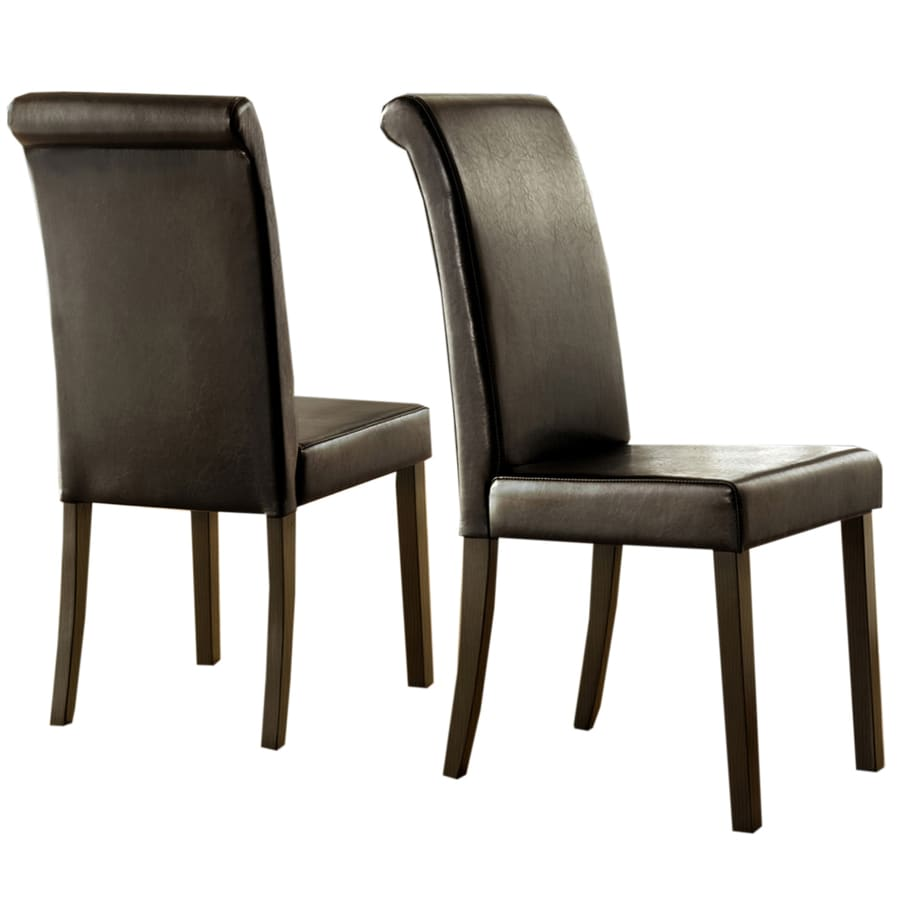 Home Sonata Set of 2 Contemporary Side Chairs