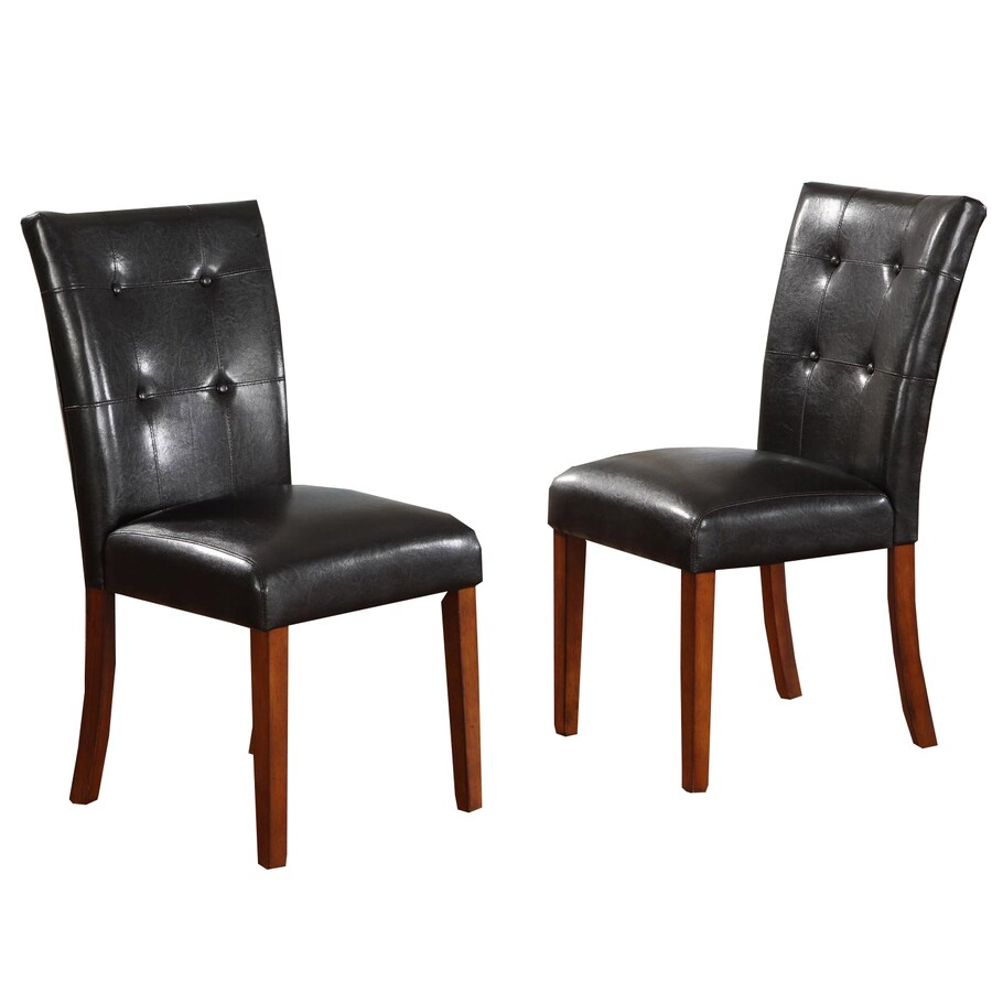 Home Sonata Set of 2 Burnished Cherry Side Chairs