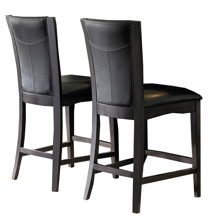 Home Sonata Espresso 24-in Counter Stool