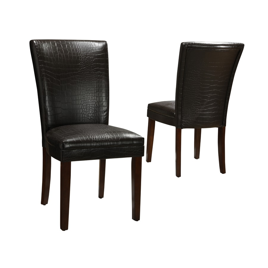 Home Sonata Brown Side Chair