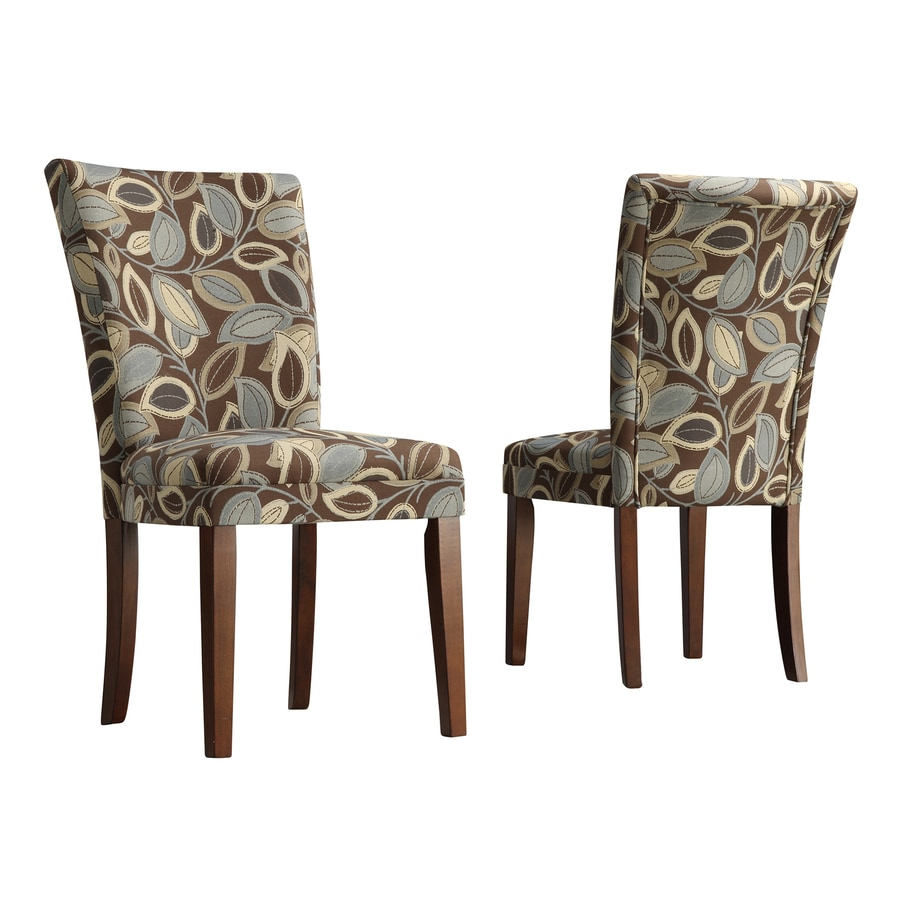 Home Sonata Traditional Brown Side Chair