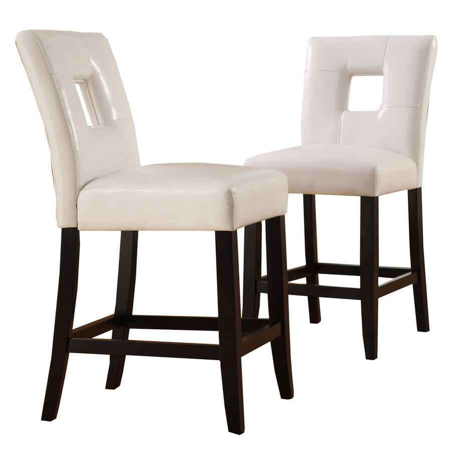 a3c49e8277d Home Sonata Set of 2 Ebony Counter Stools at Lowes.com