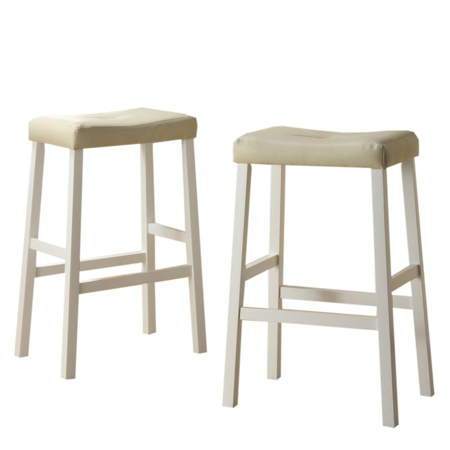 Home Sonata Home Decor White 29-in Bar Stool