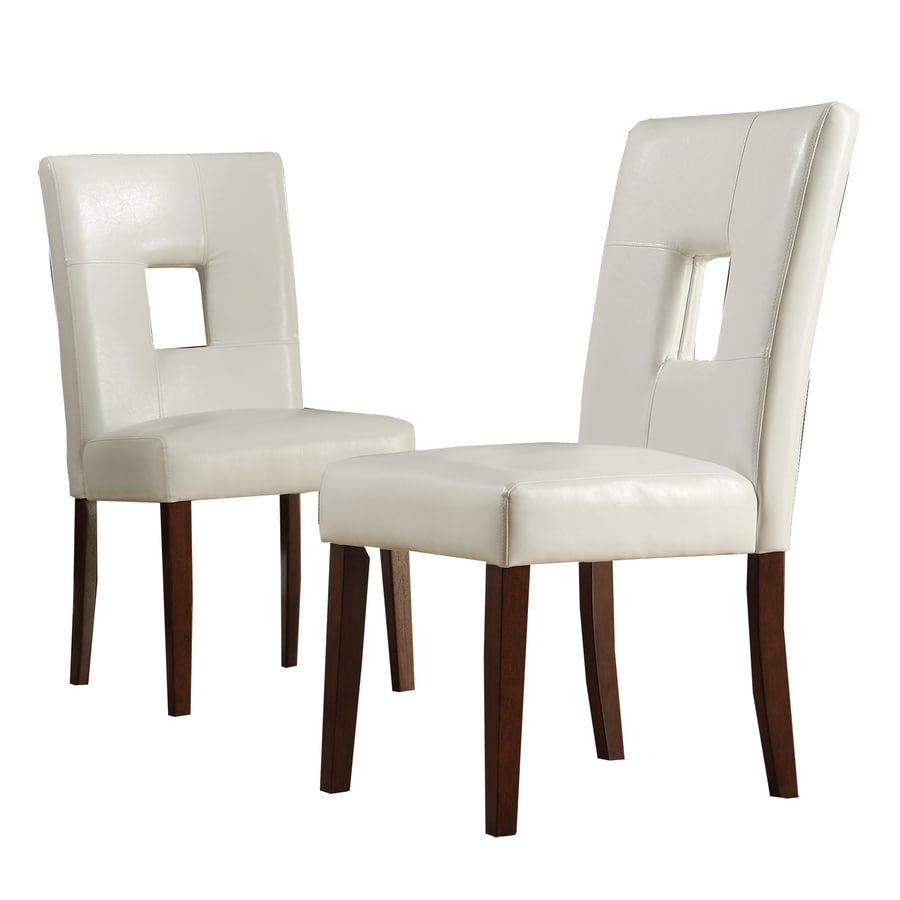 Home Sonata Set of 2 Cherry Side Chairs