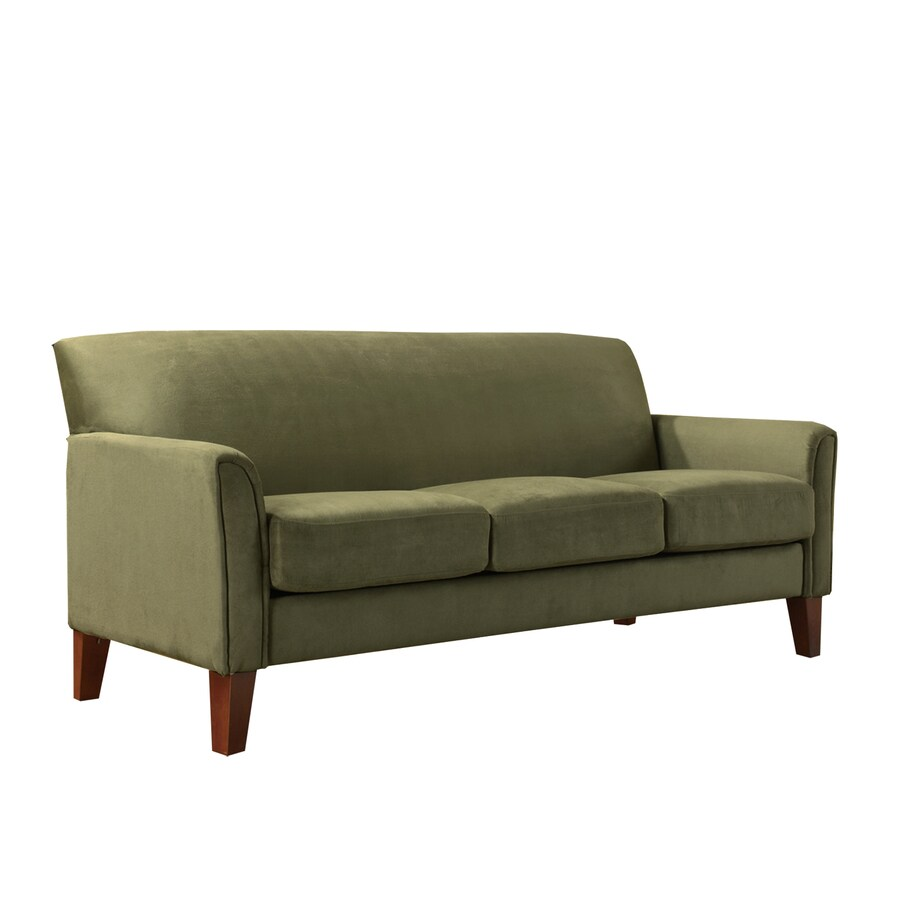 Home Sonata Oak Microsuede Sofa