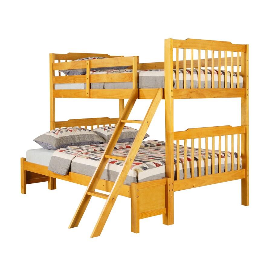Home Sonata Honey Pine Twin Bed Frame