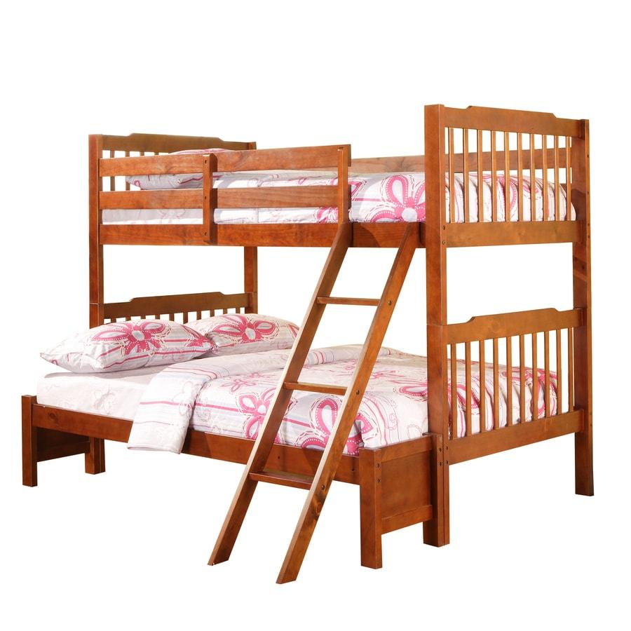 Home Sonata Mahogany Twin Bed Frame