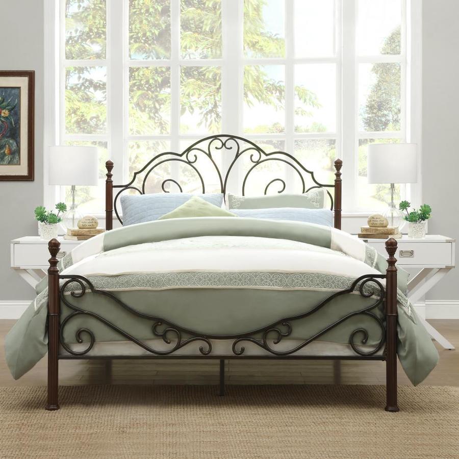 Home Sonata Bronze Full Bed Frame