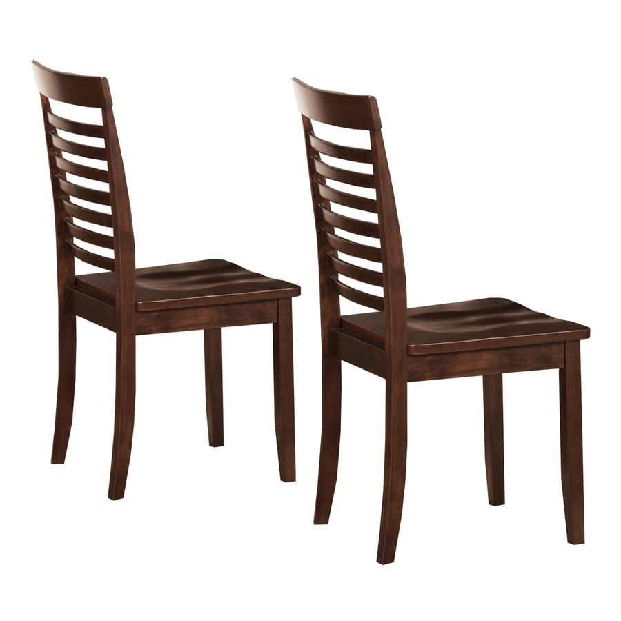 Home Sonata Dark Brown Side Chair