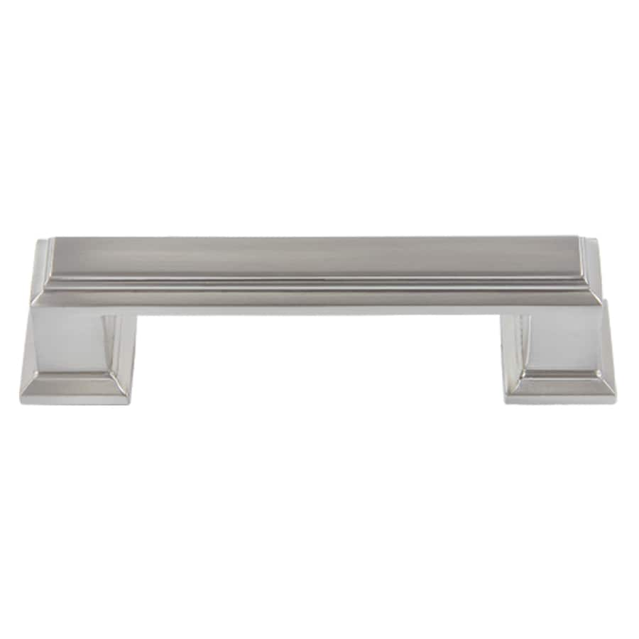 Lola & Company 3-in Center-to-Center Brushed Nickel Sutton Place Bar Cabinet Pull