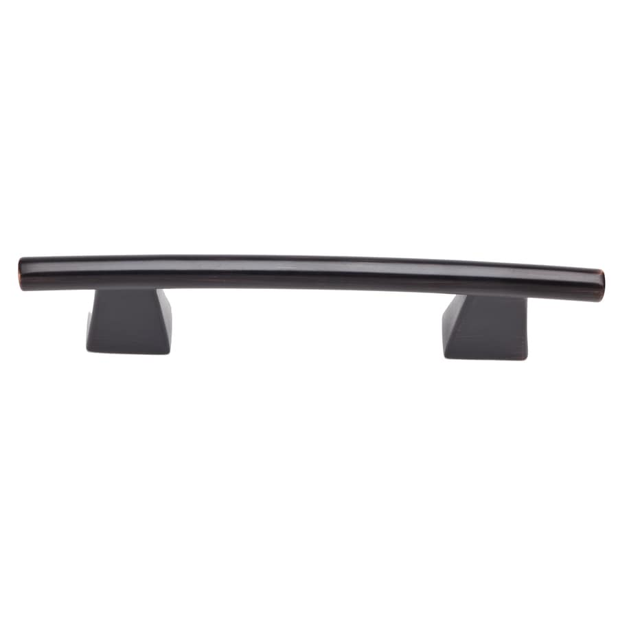 Lola & Company 3-in Center-to-Center Venetian Bronze Fulcrum Arched Cabinet Pull