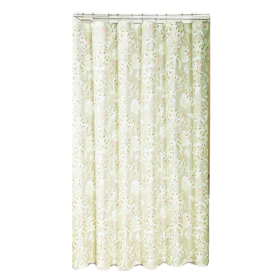 Shop Metro Luxe Polyester Light Multi Floral Shower Curtain At
