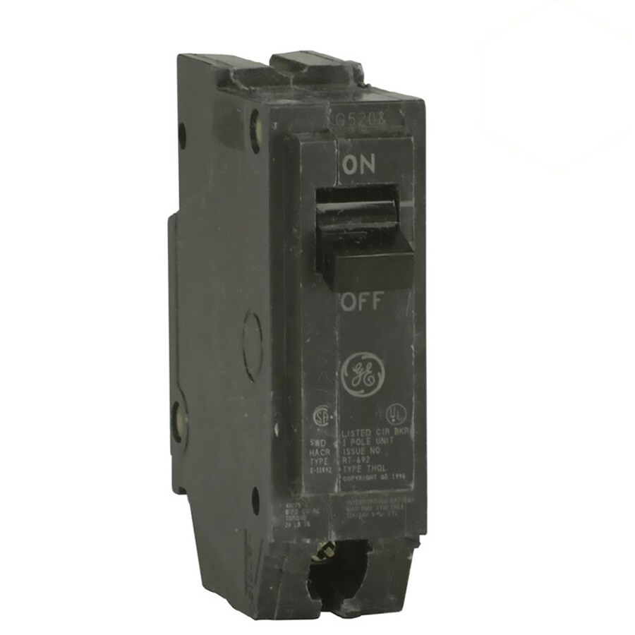 GE Q-Line THQL 30-Amp 1-Pole Single-Pole Circuit Breaker
