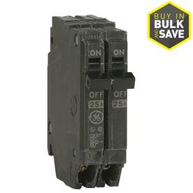 GE Q-line Thqp 50-Amp 2-Pole Standard Trip Circuit Breaker