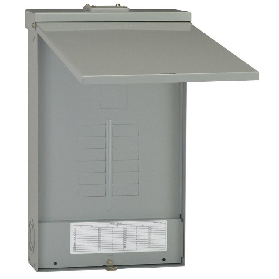 Ge Powermark Gold 24 Circuit 125 Amp Main Lug Convertible Load Center At Lowes Com