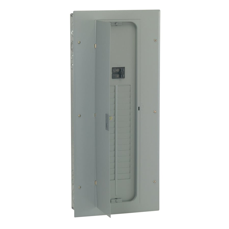 GE 32-Circuit 32-Space 100-Amp Main Breaker Load Center
