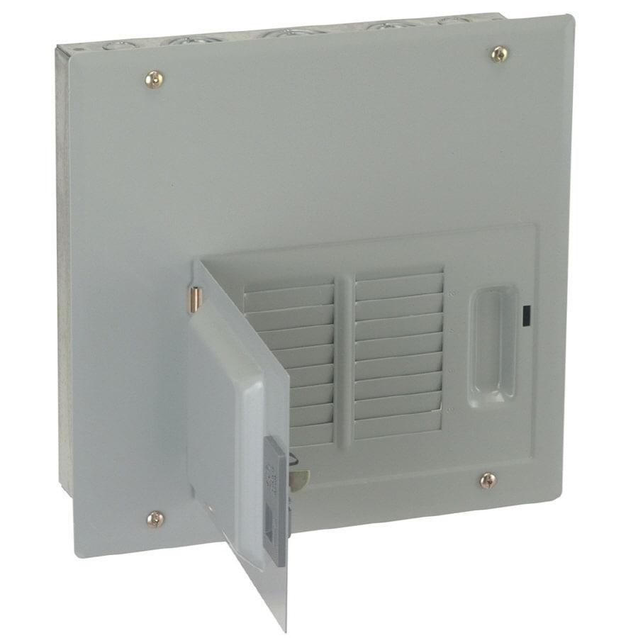 GE 12-Circuit 6-Space 125-Amp Main Lug Convertible Load Center