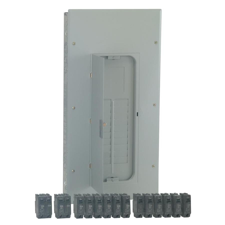 GE 20-Circuit 40-Space 200-Amp Main Lug Load Center (Value Pack)