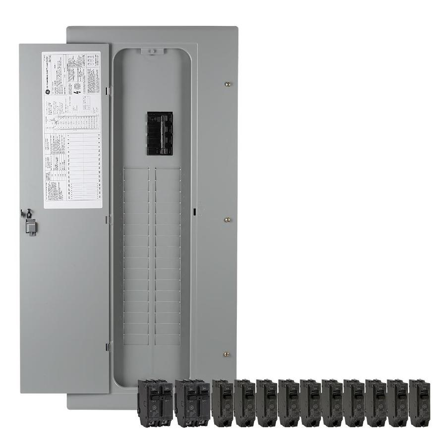 Shop GE 40-Circuit 32-Space 200-Amp Main Breaker Load Center (Value ...