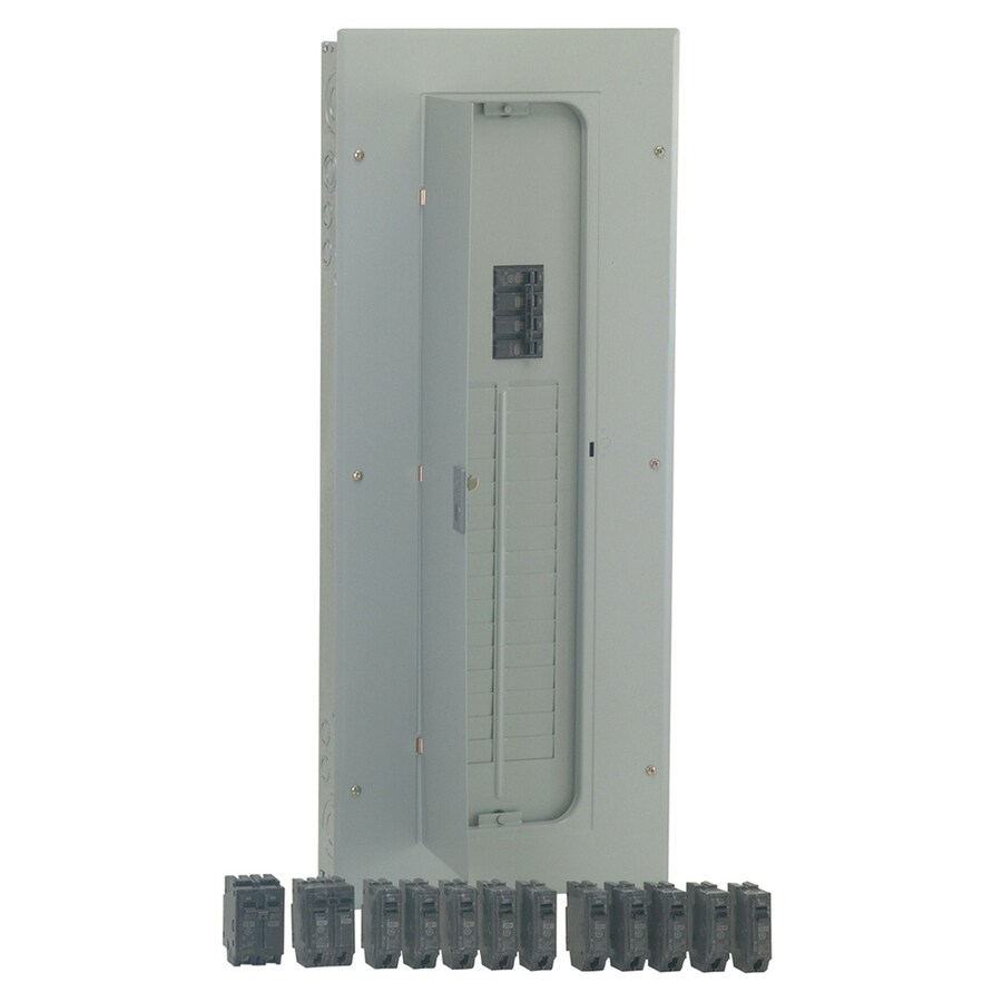 GE 32-Circuit 40-Space 200-Amp Main Breaker Load Center (Value Pack)