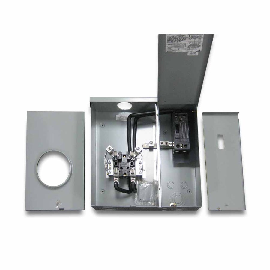 GE 150-Amp Ringless Single Phase (120/240) Meter Socket
