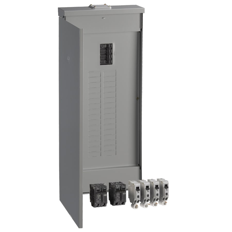 GE 40-Circuit 32-Space 200-Amp Main Breaker Load Center (Value Pack)