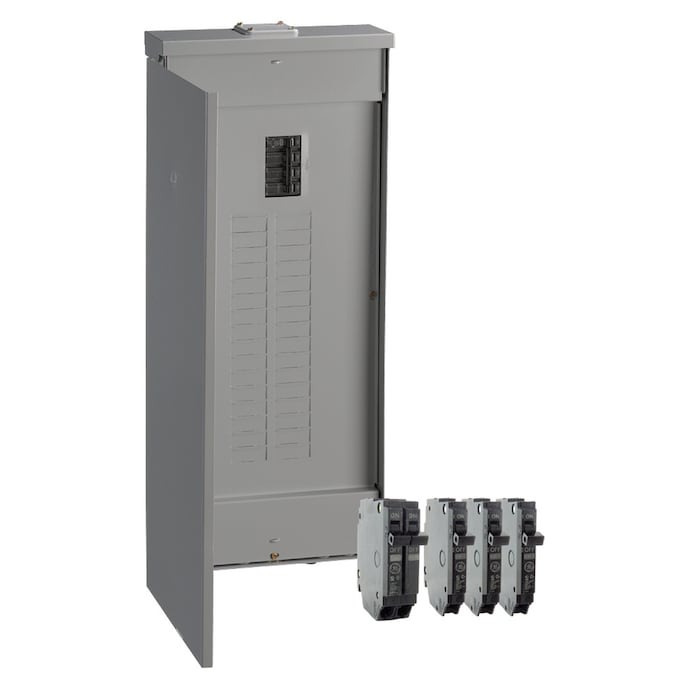 Ge 200 Amp 32 Spaces 40 Circuit Main Breaker Load Center Value Pack In The Breaker Boxes Department At Lowes Com