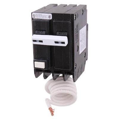 Q-line Thql 50-Amp 2-Pole GFCI Circuit Breaker on