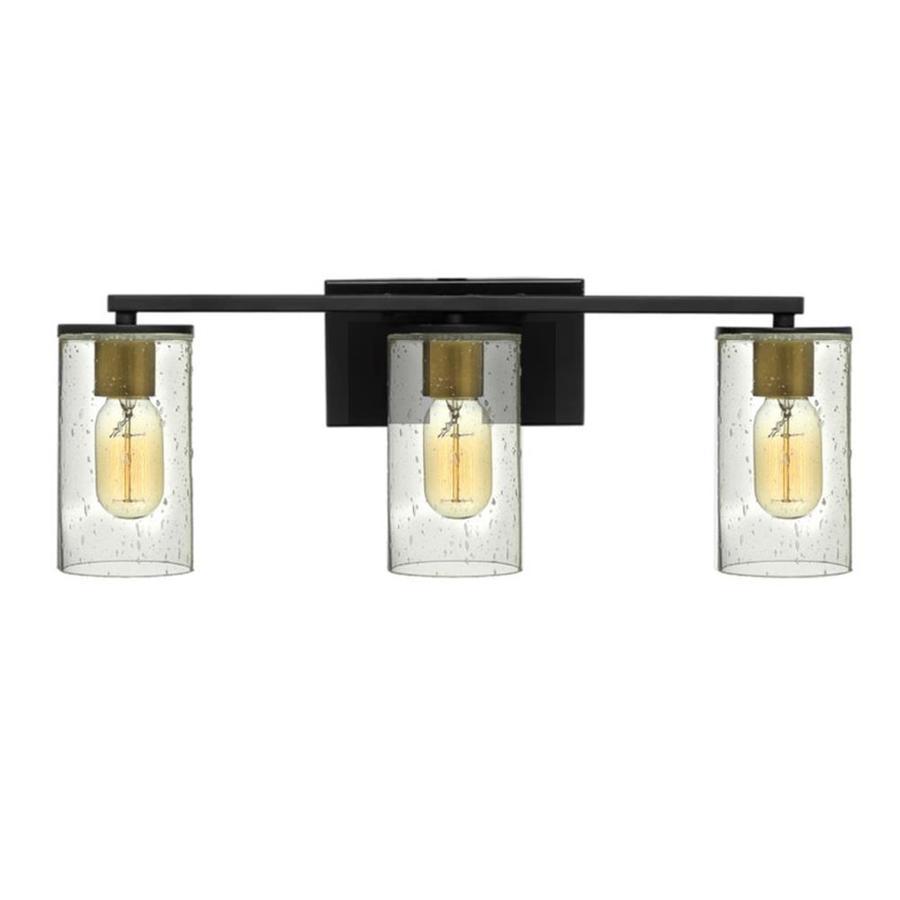 Maxim Lighting Sleek 3 Light Black Coastal Vanity Light In The Vanity Lights Department At Lowes Com