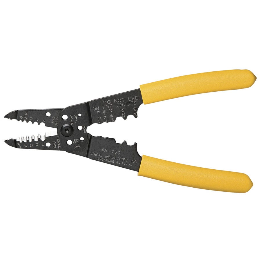 IDEAL Coax Crimper/Stripper