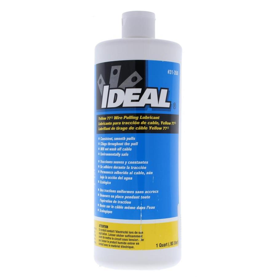 Shop IDEAL 32 oz Yellow/Gold Wire Pulling Lubricant at Lowes.com