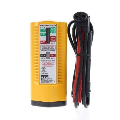 IDEAL VOL-TEST og 600-Volt Ac/Dc Voltage Tester at Lowes.com on ac dc sine wave, ac dc 1976, ac dc battery, ac dc amps, ac dc multimeter, ac dc symbol, ac dc fan, ac dc rectifier, ac dc motor, ac dc strain,