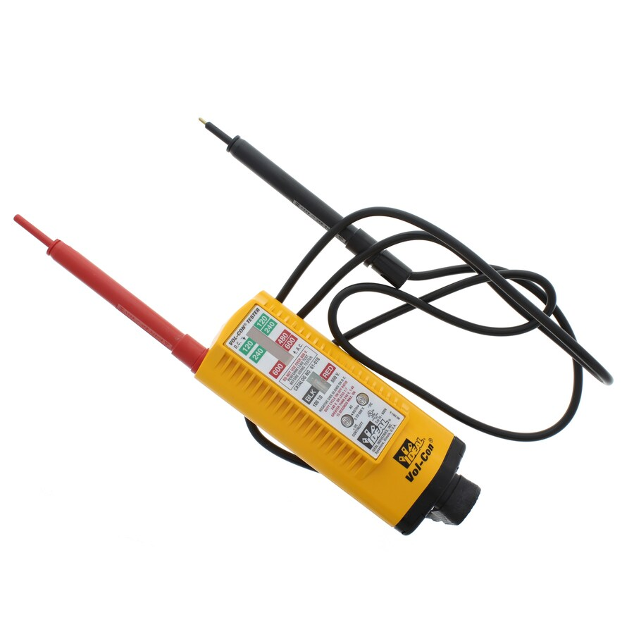 First Voltage Tester : Shop ideal analog ac voltage detector at lowes